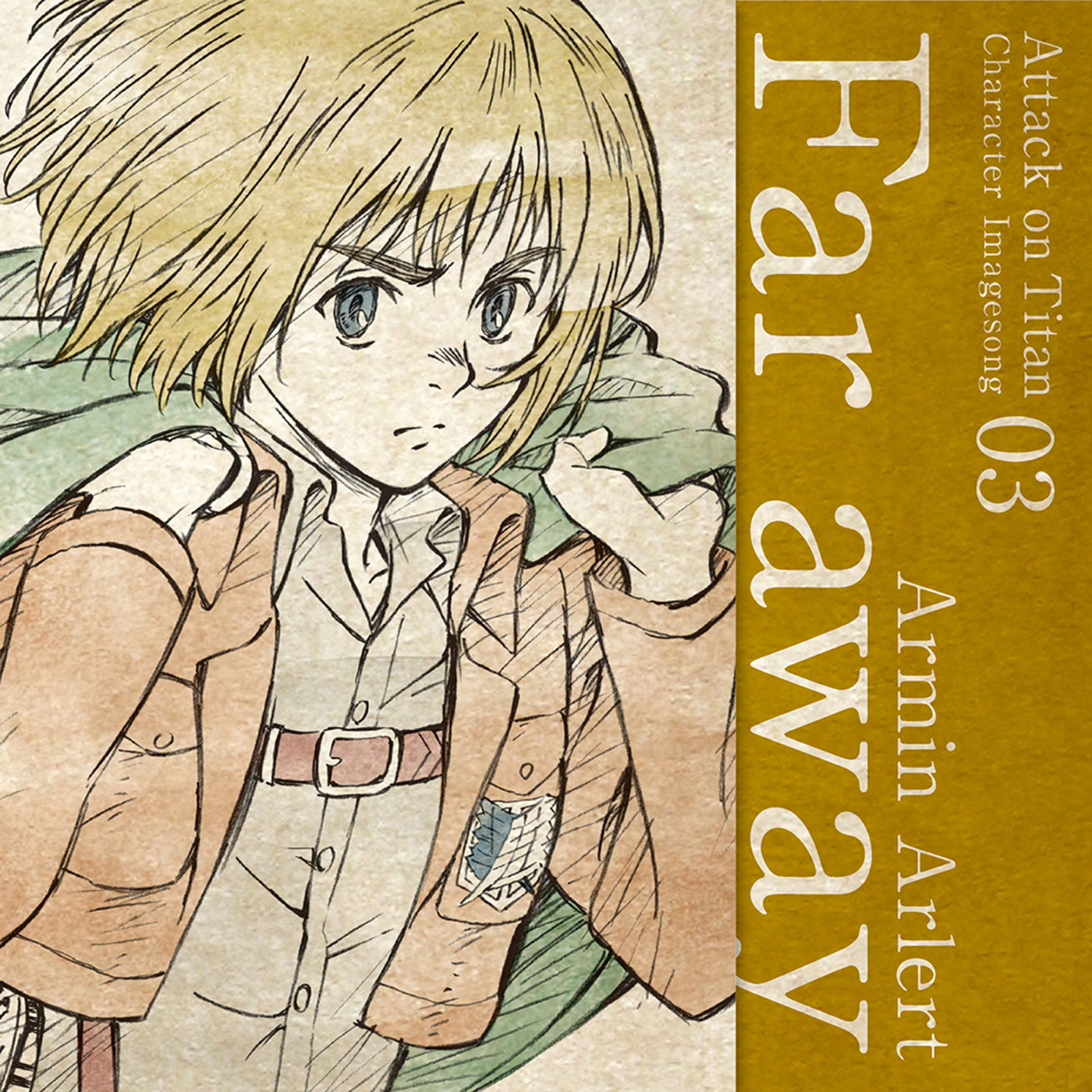 Character Image Song 03 : Far away / Armin Arlert