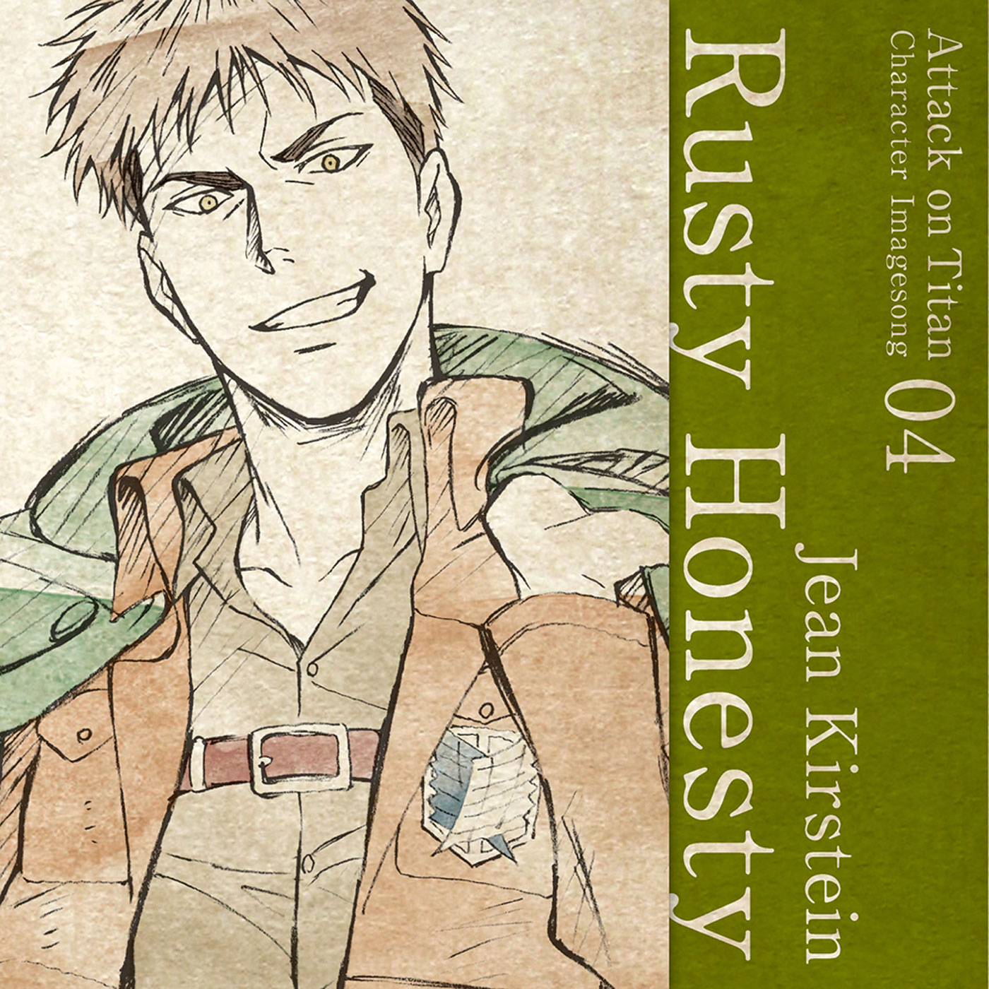 Character Image Song 04 : Rusty Honesty / Jean Kirstein