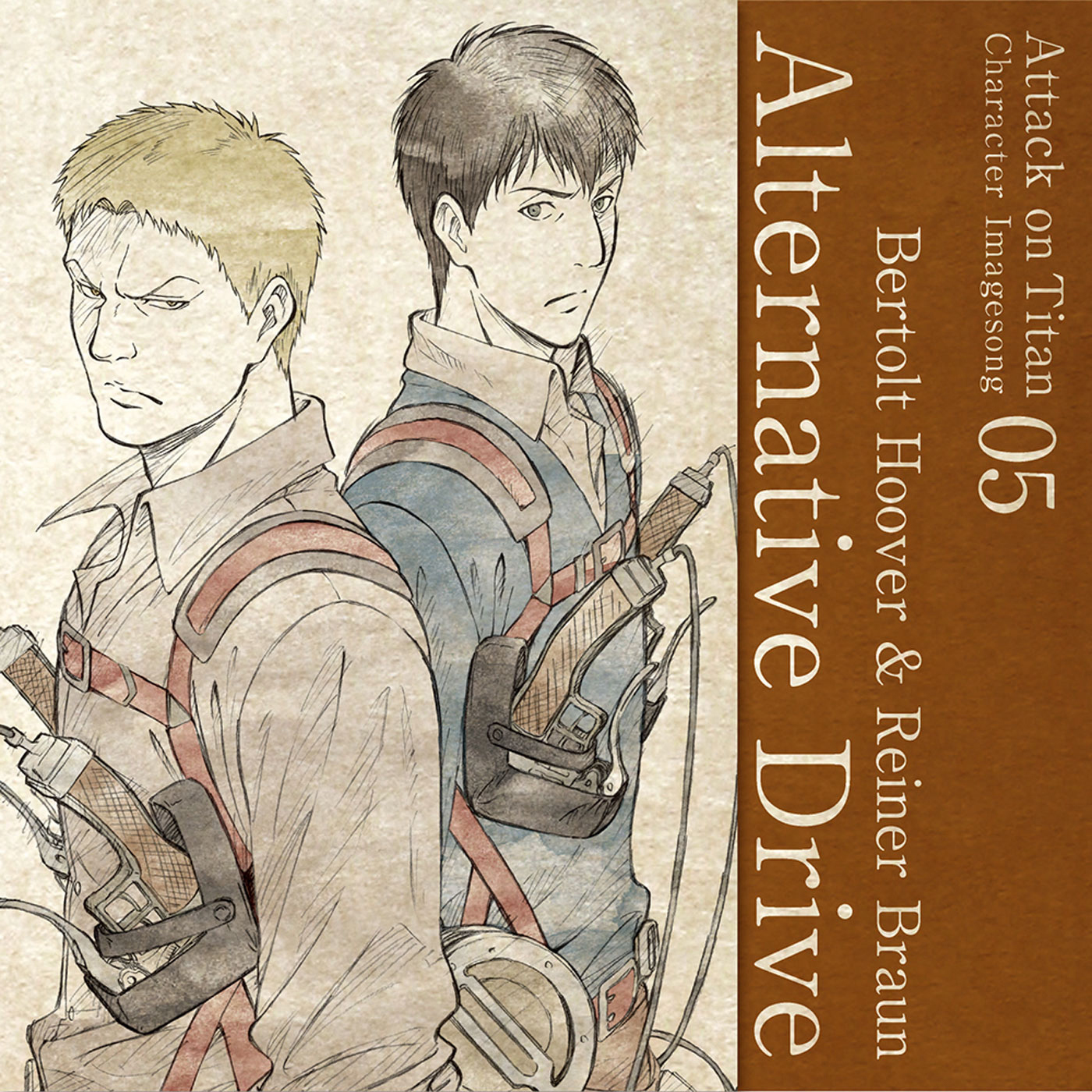 Character Image Song 05 : Alternative Drive / Bertolt Hoover & Reiner Braun